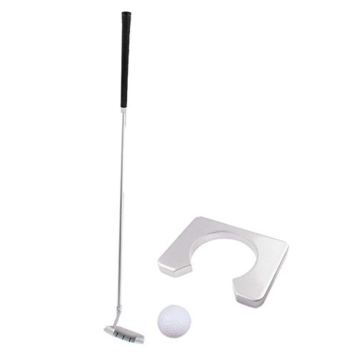 MYHH Executive Travel Indoor Golf-Club Holz Putter Kit.