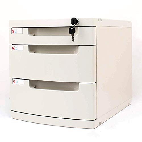 Estantes para periódicos Armarios Armarios de archivos al archivo Archivo gabinetes de almacenamiento de escritorio Box Office Furniture 3 archivo de gabinete del cajón, con cerradura de alta capacida