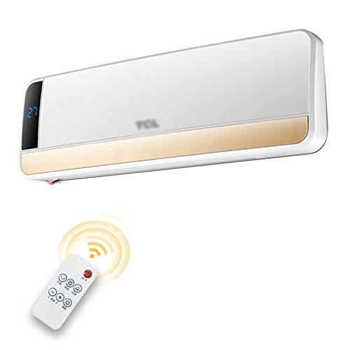 XIANGZI Termoventilatore da Parete in Ceramica - Termoventilatore Domestico con Telecomando - 2000 W,Remote Control Style