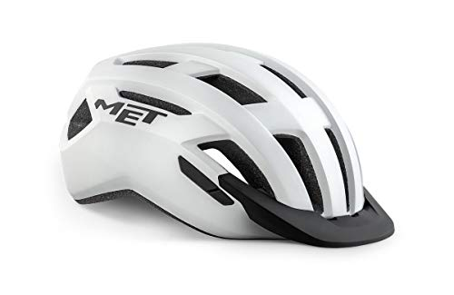 MET Allroad Helm White Matte Kopfumfang L | 58-61cm 2021 Fahrradhelm