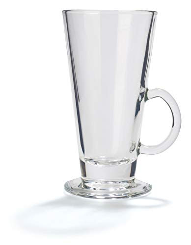 Stölzle Oberglas Glas für Kaffee, Latte Macchiato, Glühwein, Tee I 6er Set I 265 ml I spülmaschinenfest