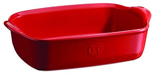 Emile Henry Eh349649 Plat à Four Individuel Céramique Rouge Grand Cru