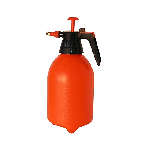 2L / 3L Orange Hand Trigger Spray Bottle verstelbare koperen sproeikop Manual Air Compression Pomp Spray fles 1,2L
