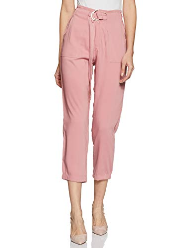 Max Women's Cropped Pants (BTM1611BLUSH_Blush_Small)