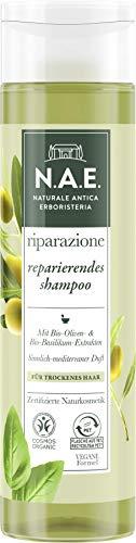 N.A.E. Naturale Antica Erboristeria riparazione reparierendes shampoo, COSMOS Organic zertifiziert durch IONC (BDIH) & Vegane Formel, 6er Pack(6 x 250 ml)