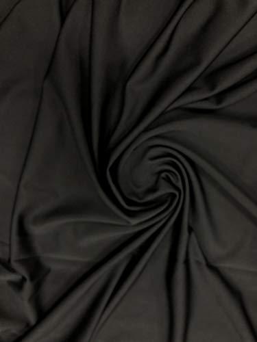 Tejido acolchado negro 2OZ Impermeable Chaquetas Suave Vestido Ropa de cama para mascotas de tapicería