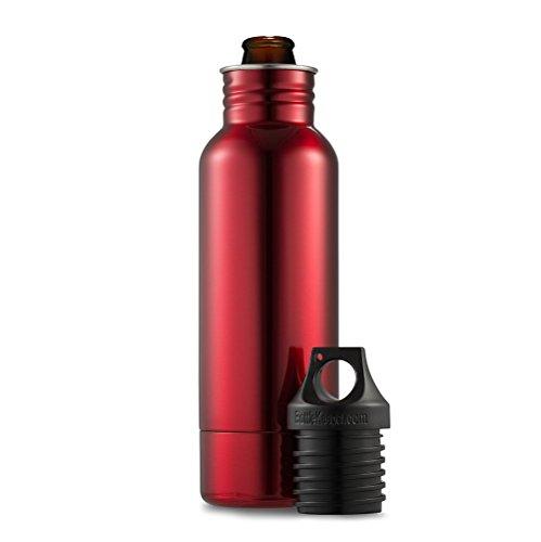 BottleKeeper - The Standard 1.0 - The Original Stainless Steel Beer Bottle Holder and ...
