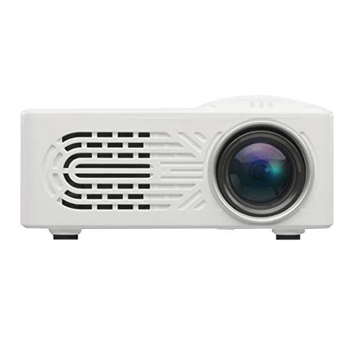 MagiDeal LED Home Theater Cinema HDMI Portátil HD Proyector Entretenimiento Enchufe De La UE