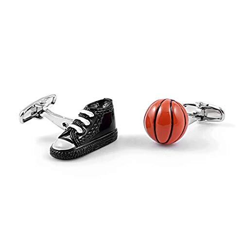 LA BELLE MANCHETTE Gemelos de Zapato y balón de Baloncesto
