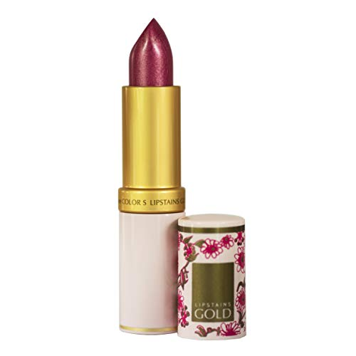 Lipstains Gold All-In-One Lipstick - Super Rich Conditioning Ingredients, Amazing Staying Power,...