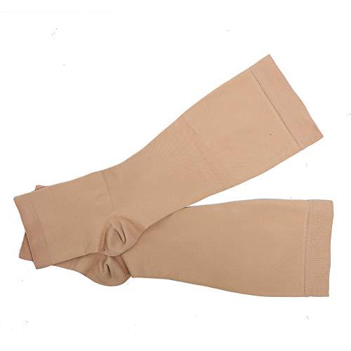 Calcetines de compresión elásticos Calcetines hasta las rodillas Varices Calcetines para adelgazar Piernas Cuidado del cuerpo Medias para mujeres y hombres Correr Vuelo Viajar Enfermeras Edema(xxl)