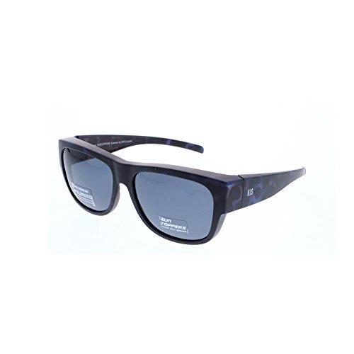 H.I.S Polarized HP79100 - zonnebril, havanna blue / 0 dioptrie