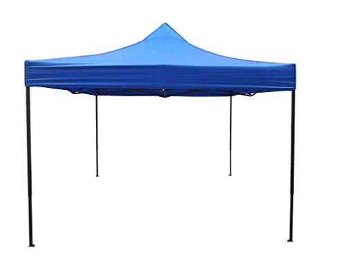Heatwave Gazebos 3x3 or 2.5mx2.5m Waterproof and 100% Solid Metal frame Pop up Garden Gazebo (3x3m, Royal Blue)