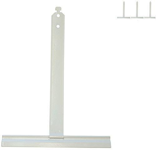 4x Alu Aufhängefedern für MAXI Rollladen, Sicherungsfeder, Aufhängeleiste,