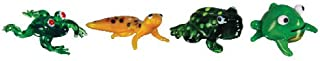 Looking Glass Miniature Collectible - Froggy/Leopard Gecko/Toad (4-Pack)