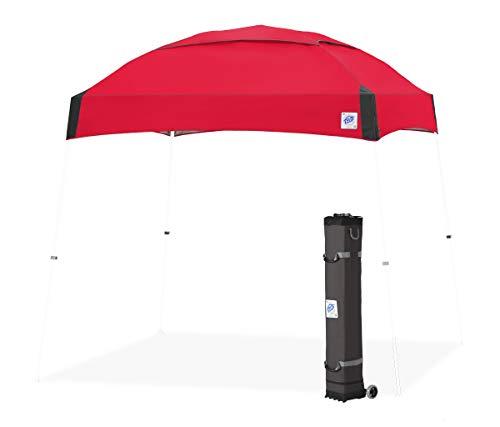 E-Z UP Dome Folding Tent Gazebo Red 100% Waterproof
