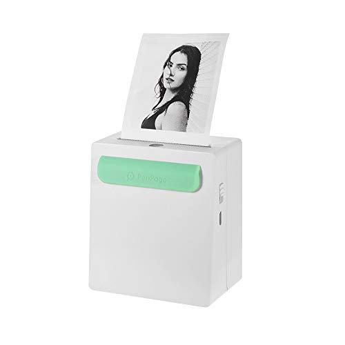 Lowest Price! Aibecy PeriPage A8 Portable Mini Photo Printer, Wireless BT Thermal Printer,2800mAh Po...