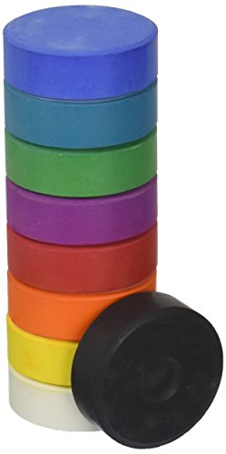 Jack Richeson Set of 9 Large Tempera Cakes, Refill Pack