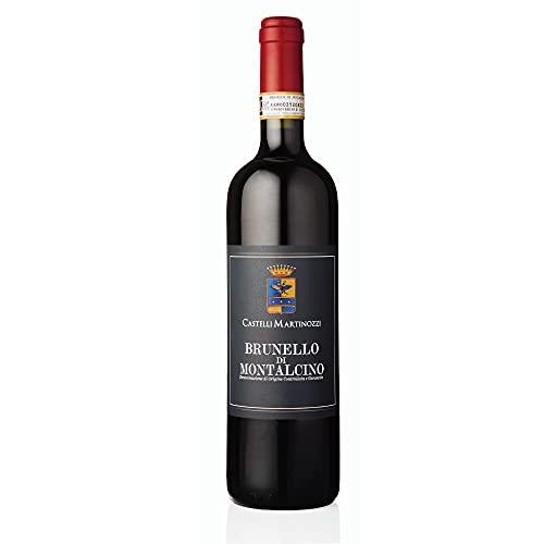 Brunello di Montalcino DOCG 2016 Castelli Martinozzi Vino Rosso Toscana Sangiovese regalo gift annata Made in Italy