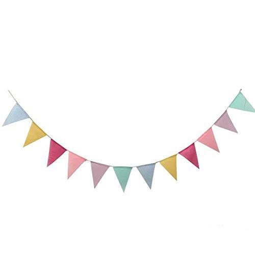 Demarkt Happy Birthday - Guirnalda para decoración de cumpleaños