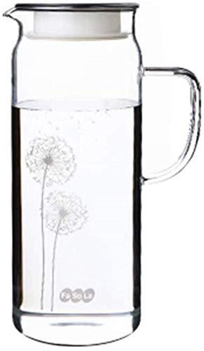 YANGHONG-Hotel Suministros hervidor- Jug de Vidrio Botella de Agua fría Taza de Agua fría Grande 1300ml Jugo Jugado Pagar Resistente al Calor/Código de Productos básicos: YLHBLSH-1794 -XBYZDBLSH-5