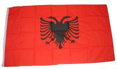Fahne / Flagge Albanien NEU 90 x 150 cm Flaggen