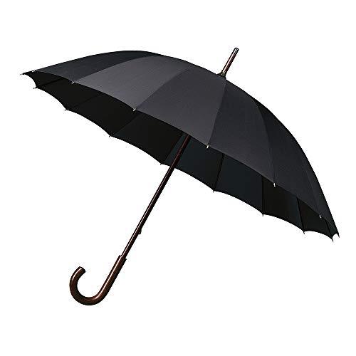 Impliva Falcone Regenschirm, 105 cm, Schwarz