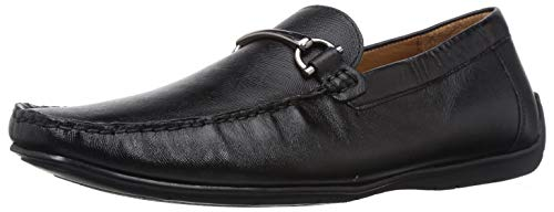 Hush Puppies Men Chic Safino Black Leather Formal Shoes-9 UK (8546972)