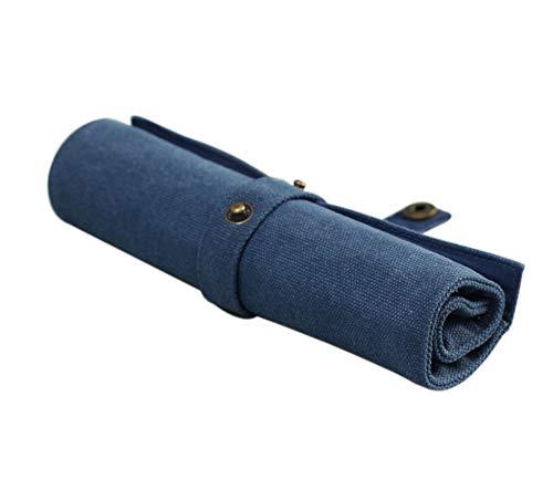 Caso color puro Abrigo retro rueda para arriba la bolsa portátil titular...