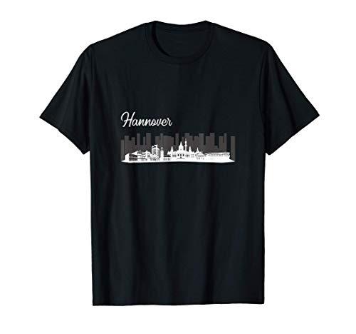 Lustiges Hannover Skyline Shirt Hannover...
