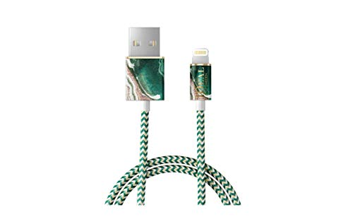 iDeal Of Sweden Ladekabel (1m Golden Jade Marble- Apple iPhone Lightning)