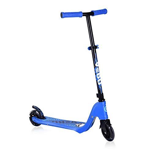 GAOPANG Kick Scooter Freestyle Scooter Cubierta de Goma Antideslizante Poste de Aluminio Ultraligero Marco de Aluminio Ligero, manillares Ajustables para Adultos