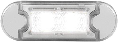 Preisvergleich Produktbild HELLA 2XT 980 855-261 Einstiegsleuchte LED,  Innenraumleuchte,  Innenraumlicht wasserdicht,  12 / 24 V,  gelb
