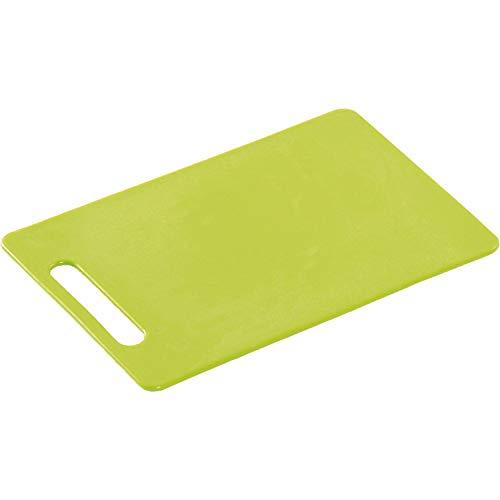 Kesper 30481 - Tabla de Cortar (plástico, 34 x 24 x 0,6cm), Color Verde