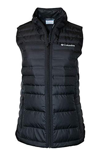 Columbia Women's McKay Lake Lightweight Down Puffer Vest (Black, L)
