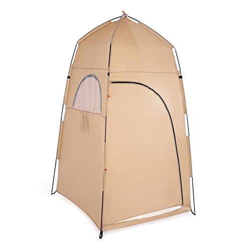 Tienda de campaña portátil al aire libre de viaje ducha baño montaje habitación tienda refugio camping playa tienda de privacidad inodoro tienda de campaña