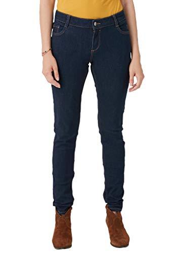 s.Oliver Damen 04.899.71.5033 Skinny Jeans, Blu (Blue Denim Stretch 59z8), 38W / 34L