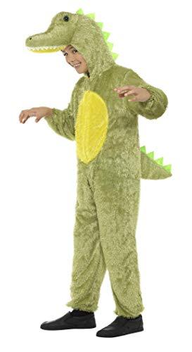 Smiffys 30777 - Disfraz de cocodrilo para niños (4-6 años)