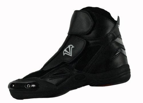 Vega Merge Men's Motorcycle Boots (Black, Size 10)