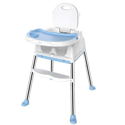WYJW Kindereetkamerstoel Multi-Functie Opvouwbare Draagbare Eettafel Stoel Huishoudelijke Babyeetstoel Hoogte Tweede Verstelbare Tafelblad Drie Verstelbare