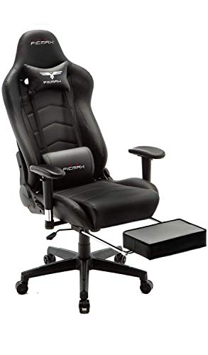 Ficmax Large Size E-Sport Ergonomic Massage Gaming Chair
