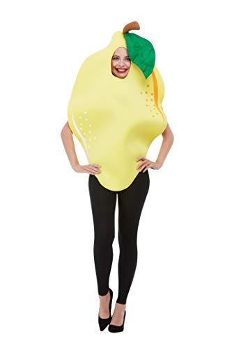 Smiffys Lemon Costume Disfraz de limn, color amarillo, Talla nica (50719)