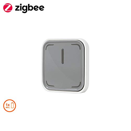 SigBee Smart+ Switch, lichtschakelaar, dimmer en afstandsbediening voor ledlampen, uitbreiding voor je smart home. switch grijs/wit