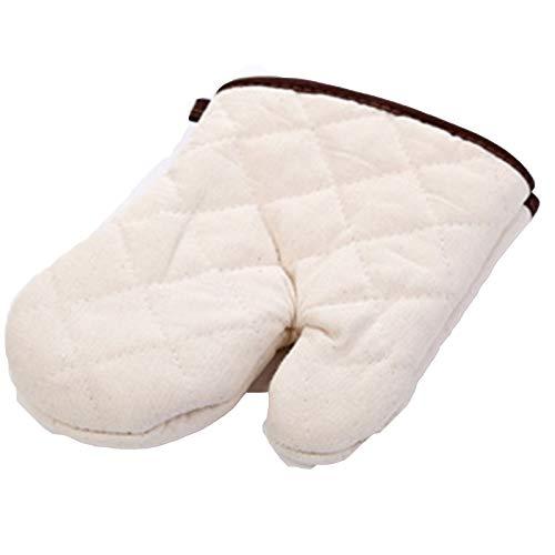 YZQ 2 Pares de Guantes Gruesos de algodón para Horno microondas, Guantes aislantes para Altas temperaturas, Guantes antiescarcha para Hornear en Horno