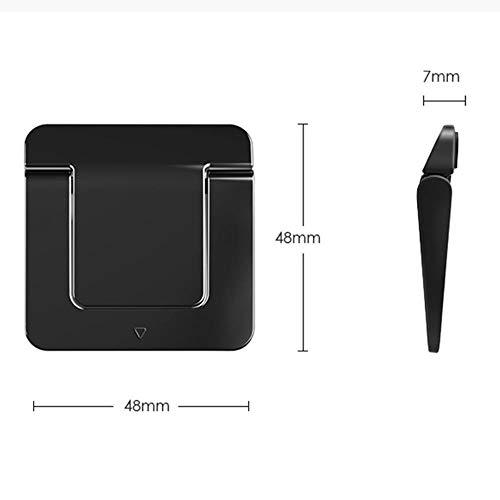 Laptop stand Folding Portable Laptop Invisible Ventilation Cooling Rack Lift For Ergonomic Tablet Laptop Black 2 Packs