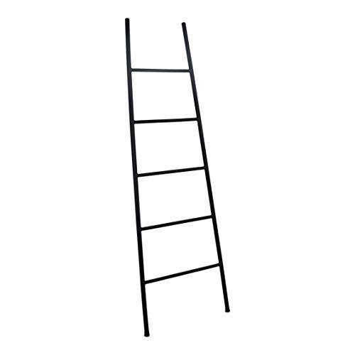 LOFT42 Trap Decoratie Ladder - Metaal - Mat Zwart - 175x50x4