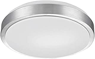 CYLED Flush Mount Ceiling Light,18inch 48W,(5000K & 3000K) Dual color temperature Conversion,Kitchen,Hallway,bathroom,Stairwell,Surface Mounted Circular Ceiling Light Fixture