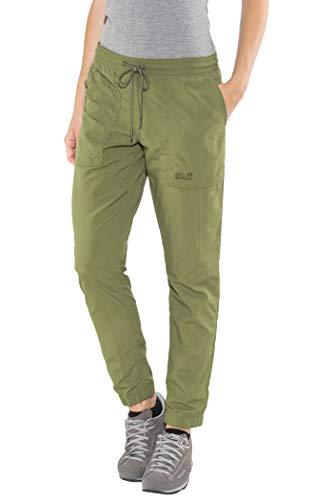 Jack Wolfskin Kalahari Cuffed Pantalon, Woodland Green, XL pour Femmes