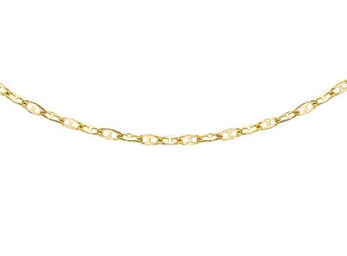 Carissima Gold Damen 9k (375) Gelbgold 1.7mm Flach Rambo Kette 1.16.2035 51cm/20zoll