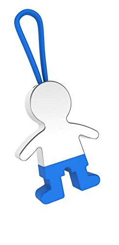 lot de 20 porte-clés enfants pantalon Bleu – porte-clés pour détails baptêmes, communions abordables et originaux enfants